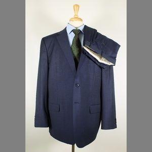 Joseph Abboud 50R 44x29 Flat Blue Suit 97-6